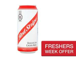 Free can of Red Stripe with Checkoutsmart.