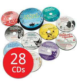 Michael Morpurgo Audio Collection - 28 CDs (Audio) £16 delivered w/code @ The Book People