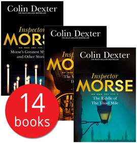 Colin Dexter's Inspector Morse Collection - 14 Books £15 delivered w/code @ The Book People