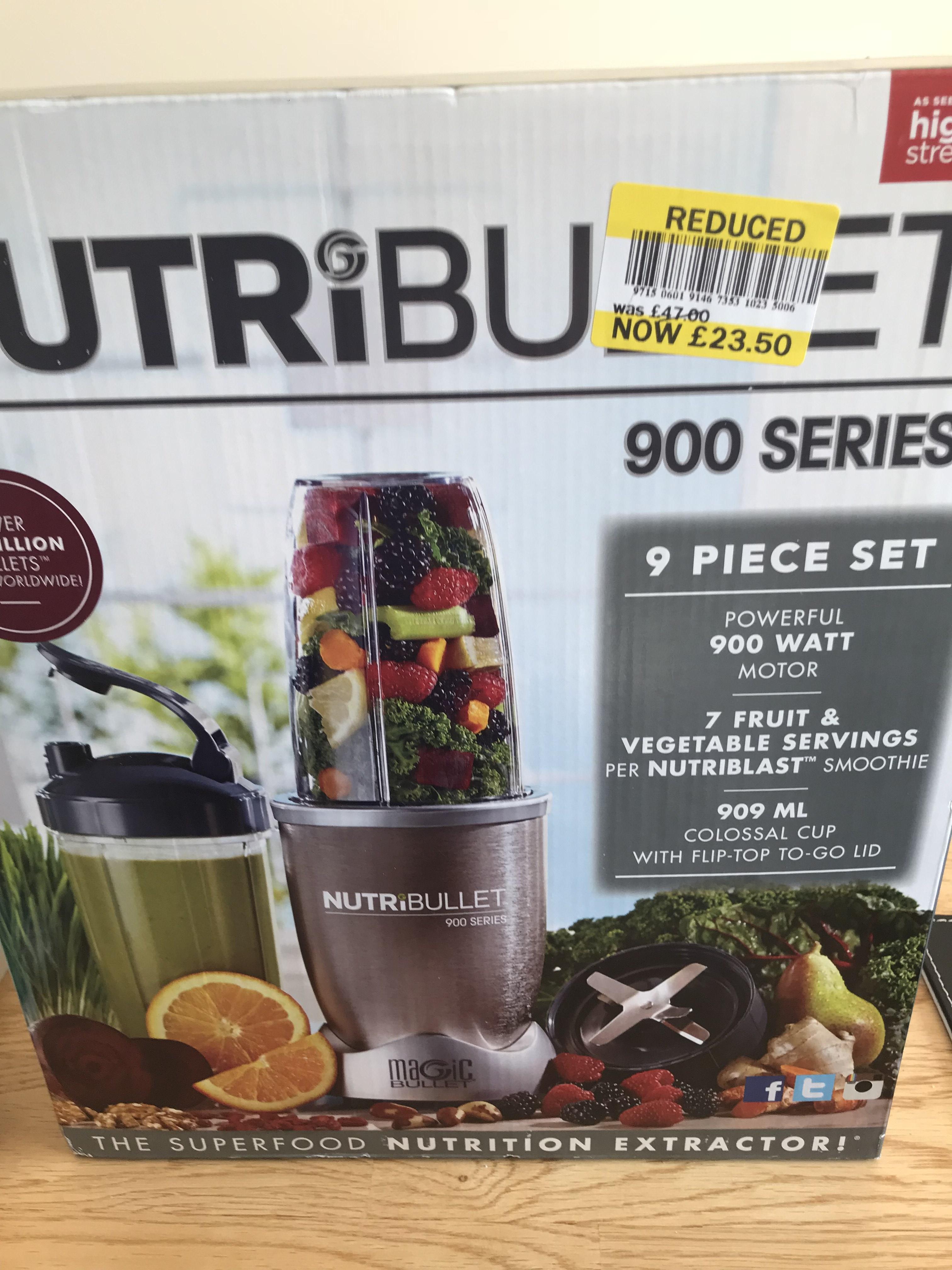Nutribullet 900 Series £23.50 - Tesco Crumlin