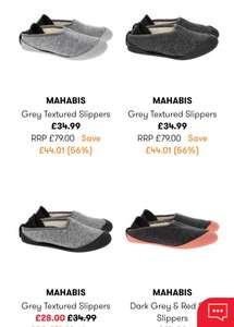 Mahabis slippers - £31.99 (+£1.99 C&C / £3.99 Delivery) @ TK Maxx