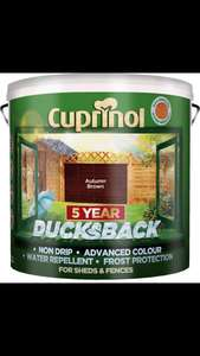 9L Cuprinol Ducksback - £18 @ Homebase (free C&C)