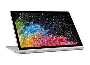 "(£1409 - after £250 cashback and £40 off code) Microsoft Surface Book 2 13.5"" 2-in-1 Laptop - Silver"