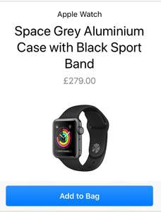 Apple Watch Series 3 £279 from Apple
