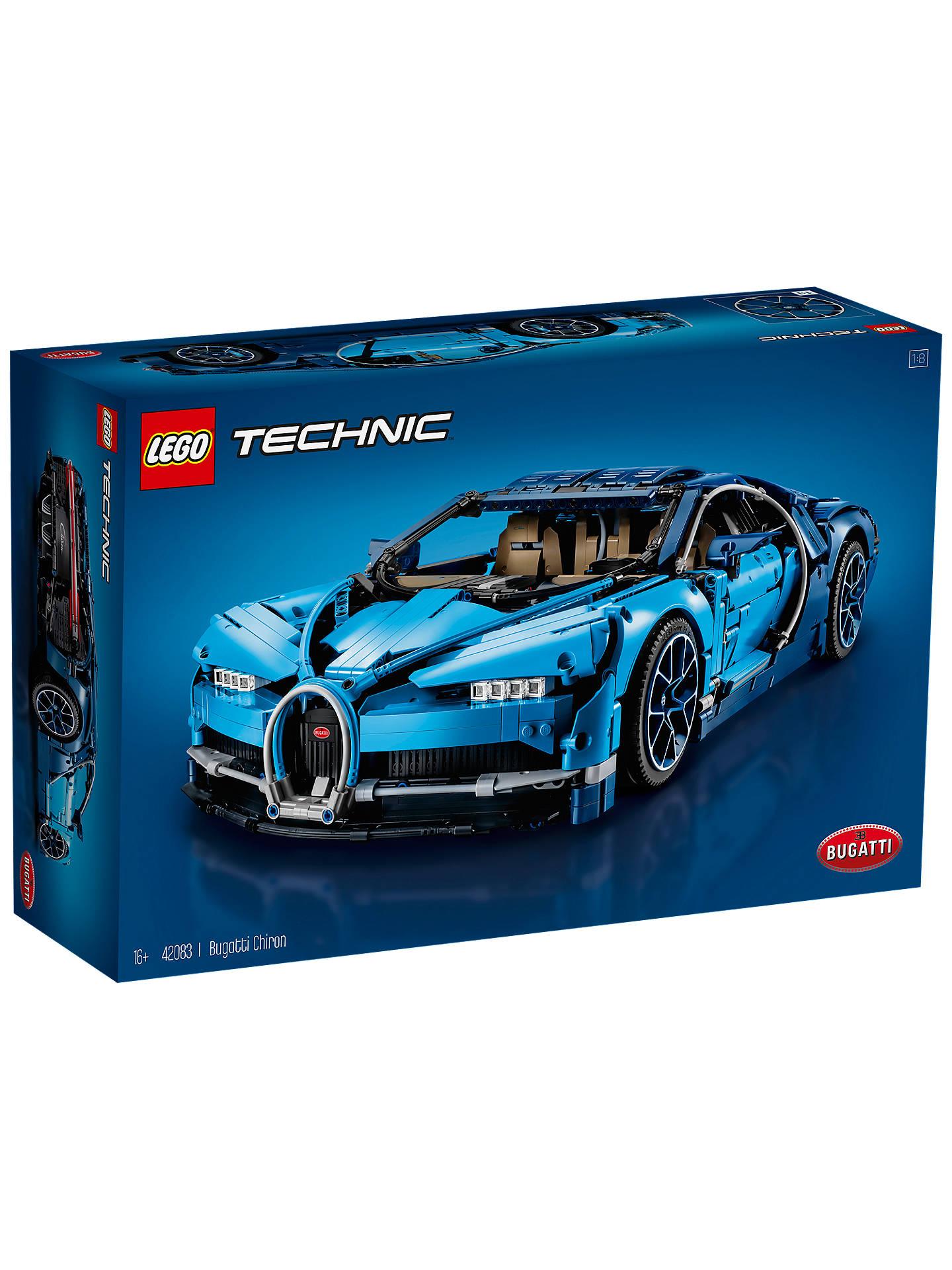 LEGO Technic 42083 Bugatti Chiron Supercar £247.49 @ John Lewis & Partners