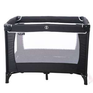 Red Kite Sleeptight Travel Cot - Black - now £22.95 delivered @ George Asda