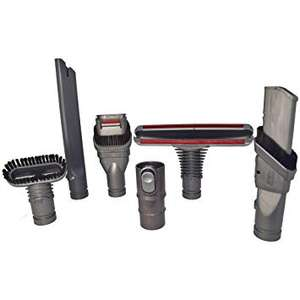 Unofficial Dyson Vacuum Cleaner Complete Tool Accessories Set £12.99 @ YourSpares
