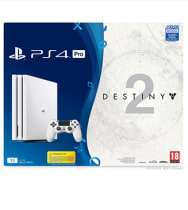 PlayStation 4 Pro 1TB Glacier White Destiny 2 Game and Expansion Pass Bundle £299.99 GAME