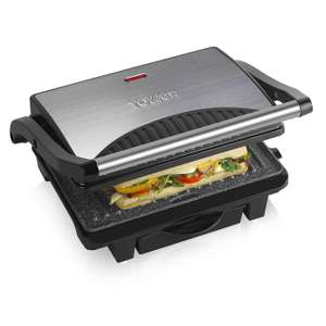 Tower T27009 4 Person 1000W Ceramic Health Grill & Griddle + 3 year guarantee - now £21.90 delivered @ Dunelm