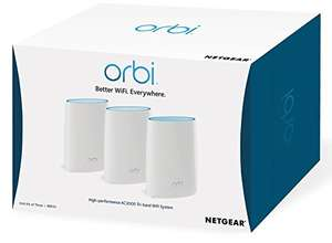 NETGEAR  Orbi RBK53 Whole Home Mesh Wi-Fi System at a great price £349.99 Amazon
