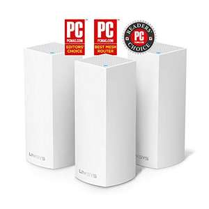 Linksys WHW0303-UK Velop Tri-Band AC6600 Intelligent Whole Home Mesh Wi-Fi System 3 Pack  £269.99 Amazon. Lowest it's been.