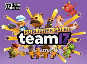 Team17 PC (Steam) Sale - Up to 90% @ OpiumPulses