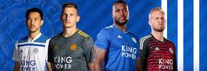 Today only, free shirt personalisation and badges on Leicester City current kits when bought online or instore @ Leicester City Store