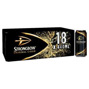 Strongbow Original Cider 18x440ml - £10 - Asda