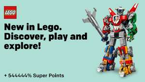 Keyring at Lego for £1.99 + £5.95 P&P (£7.94) and receive £9,028 cashback glitch via Rakuten!!