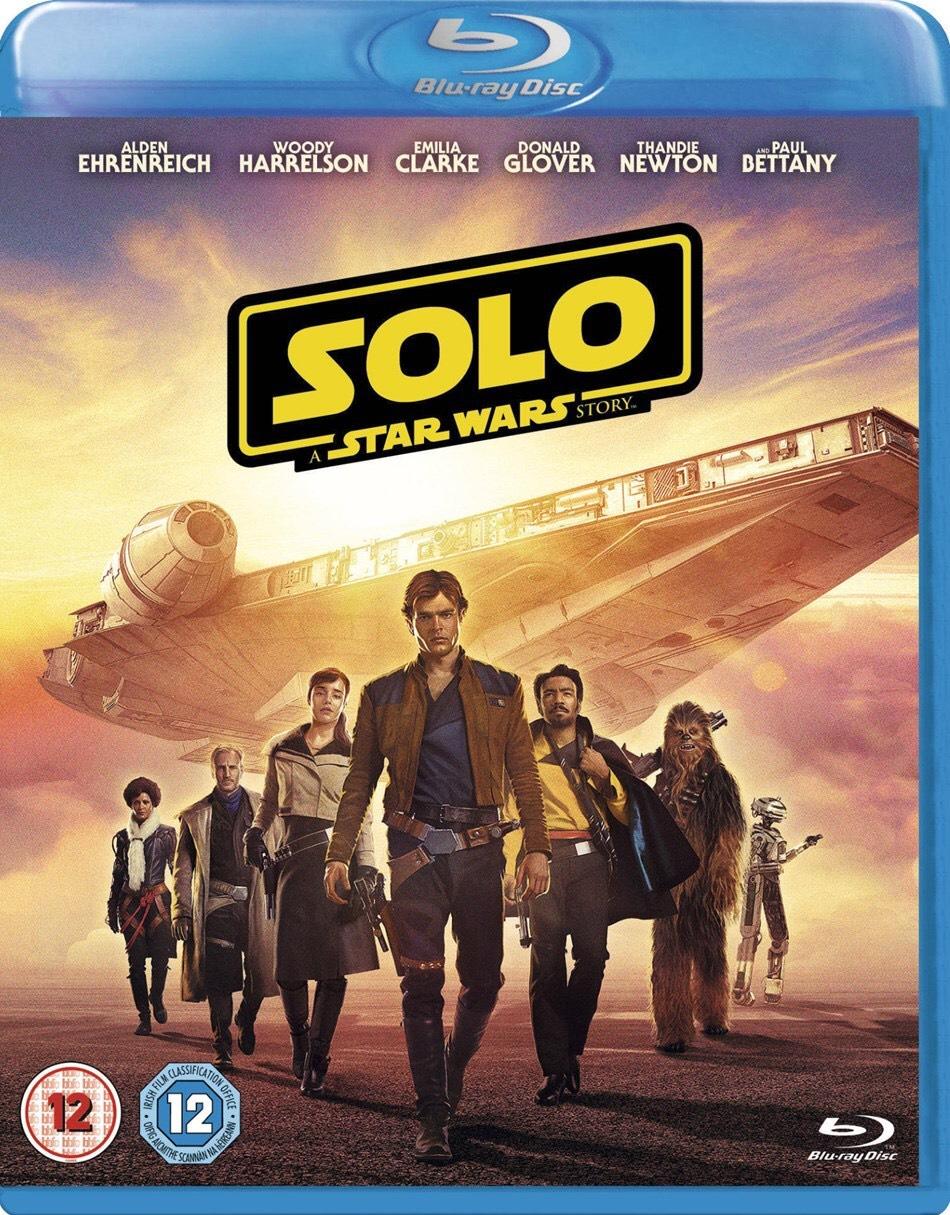 SOLO: A STAR WARS STORY Blu-ray - £14.99 @ Zavvi