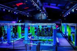 Total Ninja assault course at Trafford Park Manchester - Academy or Recruit options from £7 @ Living Social