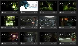 All Alien Games Reduced @Fanatical
