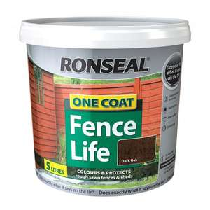 ronseal fence and shed paint - £2.99 @ Poundstretcher