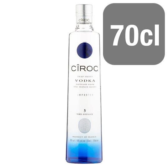 Ciroc Vodka 70cl Save £11.50 was £38.50 now £27 @ Tesco