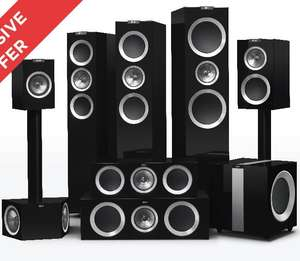 Up to 40% of Kef R Series @ Peter Tyson Audio Visual