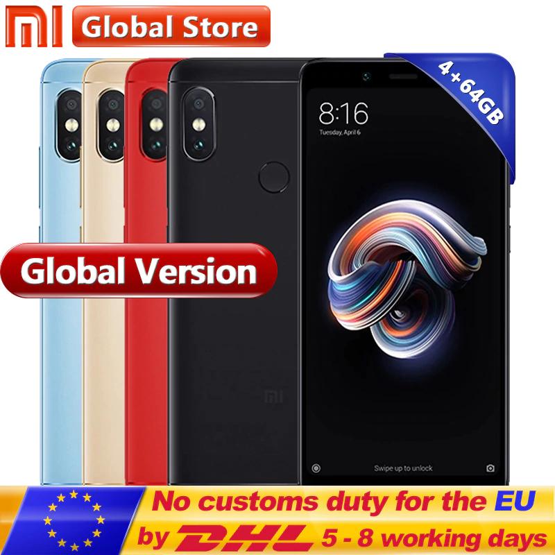 Original Global Version Xiaomi Redmi Note 5 4GB 64GB £138.85 @  Ali Express / Mi Global Store