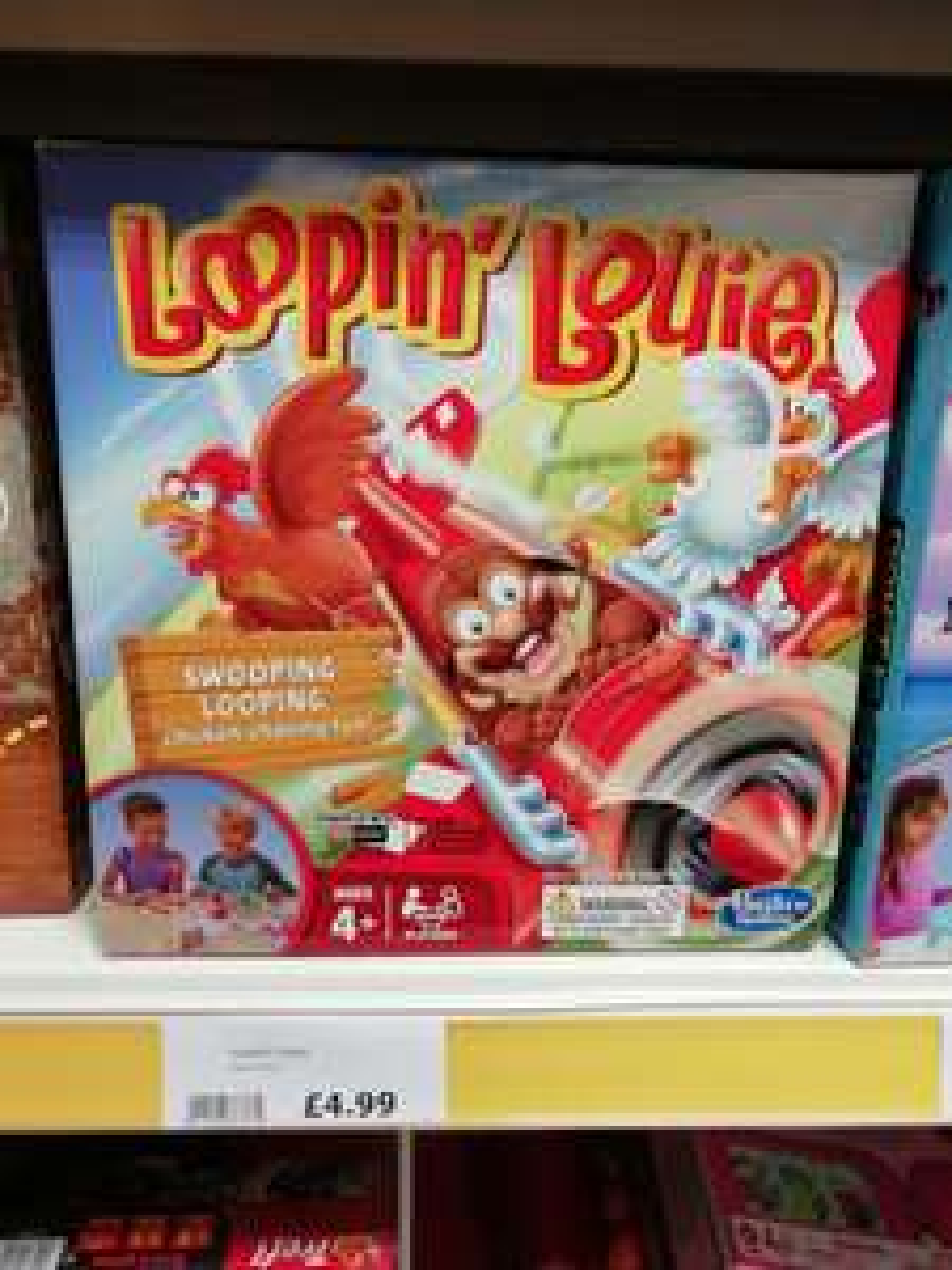 Loopin Louie hasbro board game £4.99 in store @ the range (national)