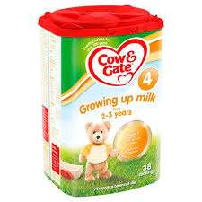 Cow & Gate Growing Up Milk Powder buy 2 for £13.50 Morrisons  = £6.75 each, £8.50 elsewhere