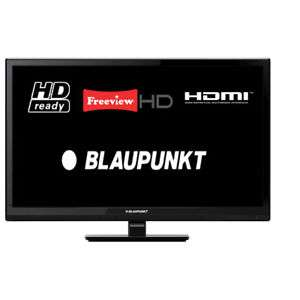 "Blaupunkt 236/207O-GB-3B-EGPS-UK 24"" LED TV HD Ready 720p Freeview HD HDMI USB £86.24 delivered w/code @ tesco outlet ebay"