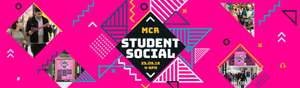 Manchester Arndale student social student night 25 Sept - 4pm, to 9pm
