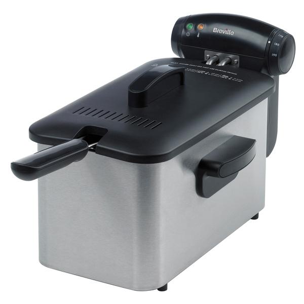 Breville VDF100 Stainless Steel  Professional Deep Fat Fryer now £26.66 @ Sainsburys