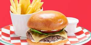 Burger and beer £5 today only @ Frankie & Benny's