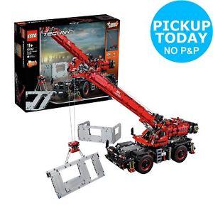 LEGO Technic Rough Terrain Crane - 42082 £152.99 with voucher PERKS @ Argos Ebay