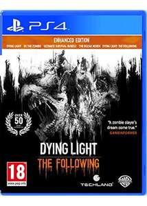 Dying light the following enhanced edition PS4 £13.85 Base.com