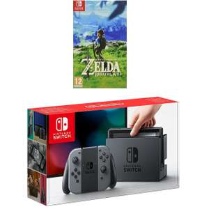 Nintendo Switch with Legend of Zelda: Breath of the Wild £279 @ AO for new customers