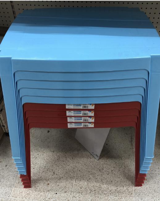 Kid's garden table (£1) at Wilkos instore