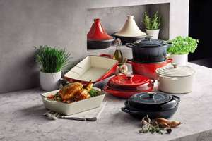 Aldi cast iron range preorder from 16th instore 20th prices from £12.99 - £24.99 eg large tagine £19.99 more in OP @ Aldi