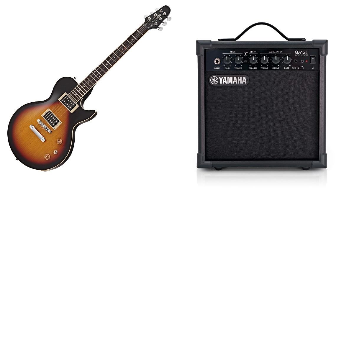 *Gear4music Clearance* SubZero Vintage Sunburst Electric Guitar W/ Yamaha 15w Amp Delivered £155.96 @ Gear4music
