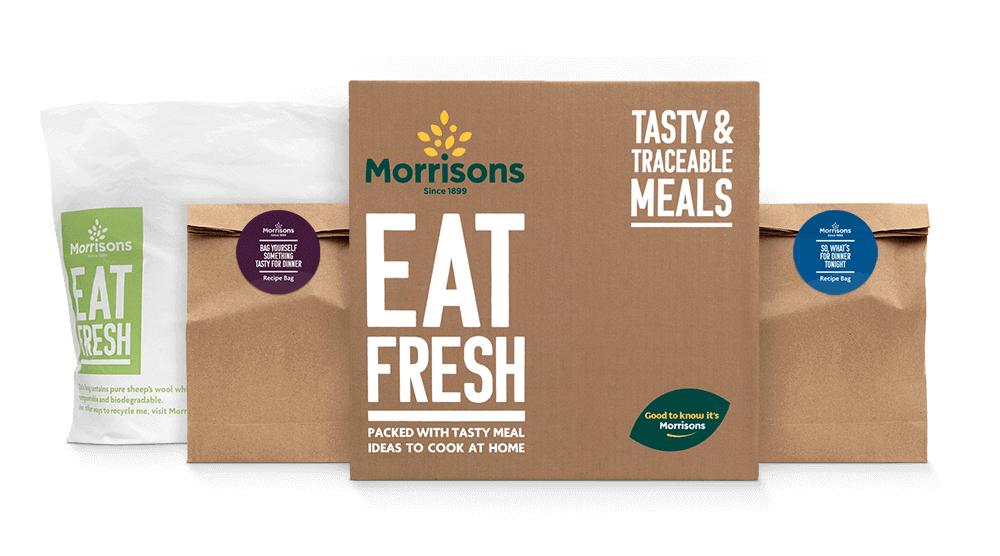 Eat Fresh (Morrisons) Recipe Box £20 @ Morrisons
