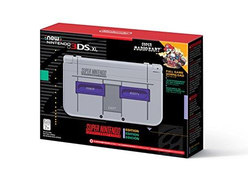 Nintendo New 3DS XL - Super NES Edition + Super Mario Kart for SNES - £150.35 @ Amazon US
