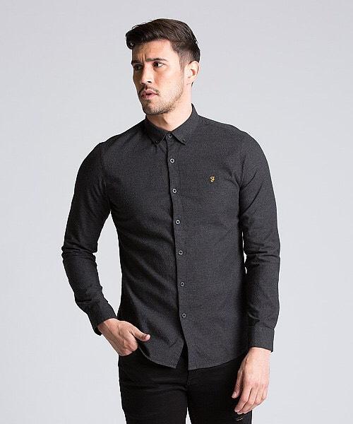 Farah Long Sleeve Oxford Shirt £14.99 @ Drome