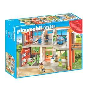 Big Toy Rollback online / instore at Asda George eg Playmobil City Life Children's Hospital £30 / LeapFrog Scoop & Learn Ice Cream Cart £30 / Barbie Care Clinic Playset £30 / Paw Patrol Mission Cruiser £30