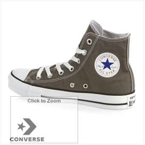 Converse All Star Hi Shoes Charcoal 4-11 for £21.98 delivered @ Surfdome