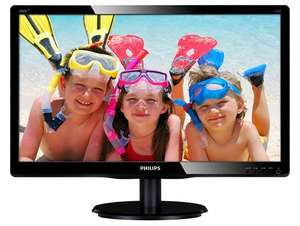 "Philips V-Line 200V4LAB2 20"" HD+ LED Monitor £62.99 Delivered @ CCL"