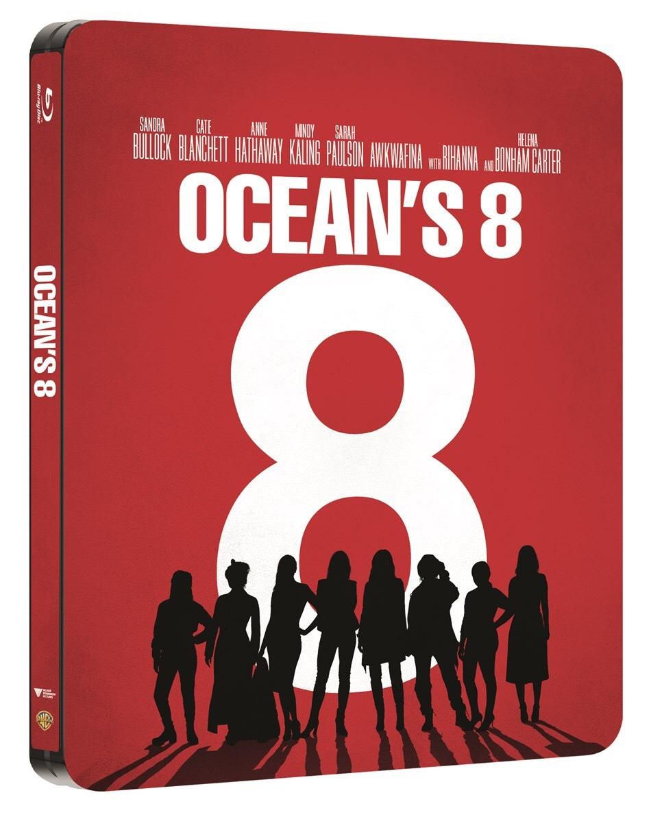 Ocean's 8 (HMV Exclusive) Limited Edition Steelbook - £19.99