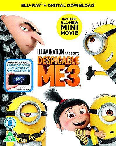 Despicable Me 3 BluRay £3.99 (Prime) / £5.98 non-Prime
