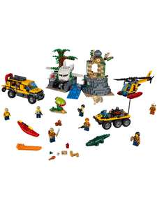 LEGO City Jungle Exploration Site - 60161 John Lewis & Partners - £51.99