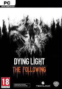 Dying Light: The Following Enhanced Edition PC STEAM key £9.02 with FB code @ CD KEYS