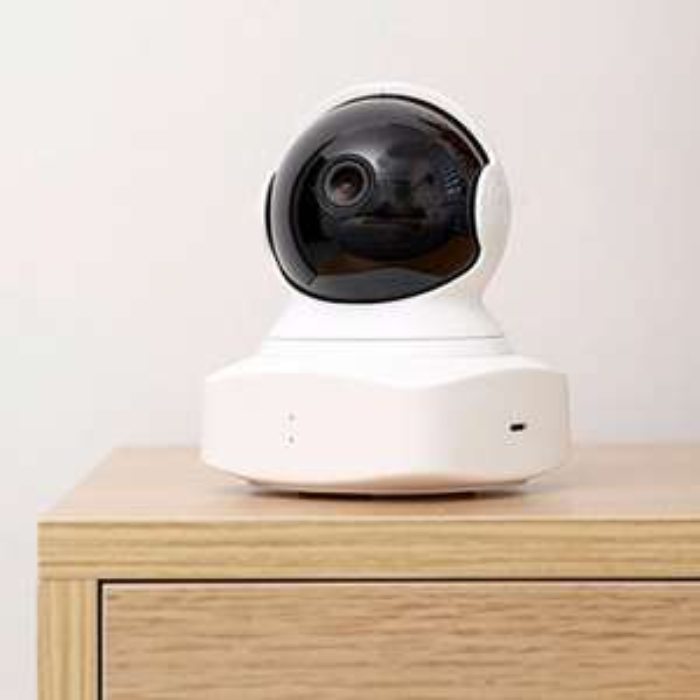 2018 New YI Cloud Dome Camera Baby Monitor 1080P HD Night Vision Wireless Wifi IP Camera Pan/Tilt/Zoom Home Camera