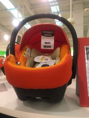 Cybex baby seat instore at Mothercare for £87.50